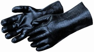 Semi-Rough PVC-Coated Gloves