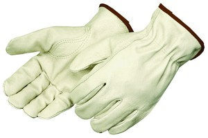 Grain Pigskin Leather Drivers Gloves, Unlined