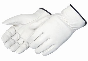 Grain Cowhide Leather Drivers Gloves, Straight Thumb