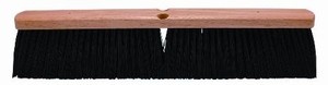 Black Polypropylene Garage Broom